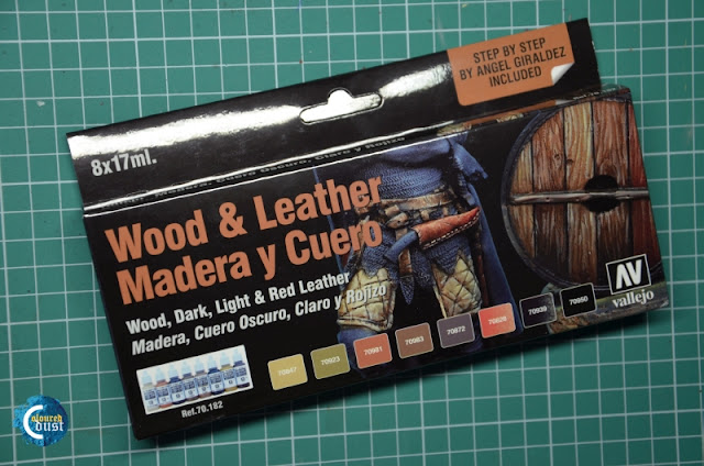 Vallejo Wood & Leather Set