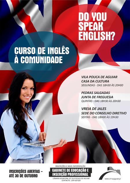 cursos de Inglês em Vila Pouca de Aguiar