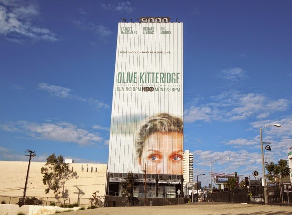 Giant Olive Kitteridge HBO mini-series billboard