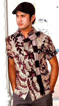 batik tulis madura coklat