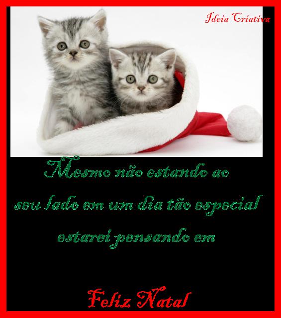 Cartões de Natal pra Imprimir Grátis