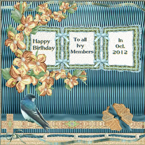 Happy Birthday Ivy Members -