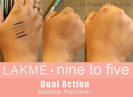 LAKMÉ Nine to Five Dual Action Makeup Remover Review