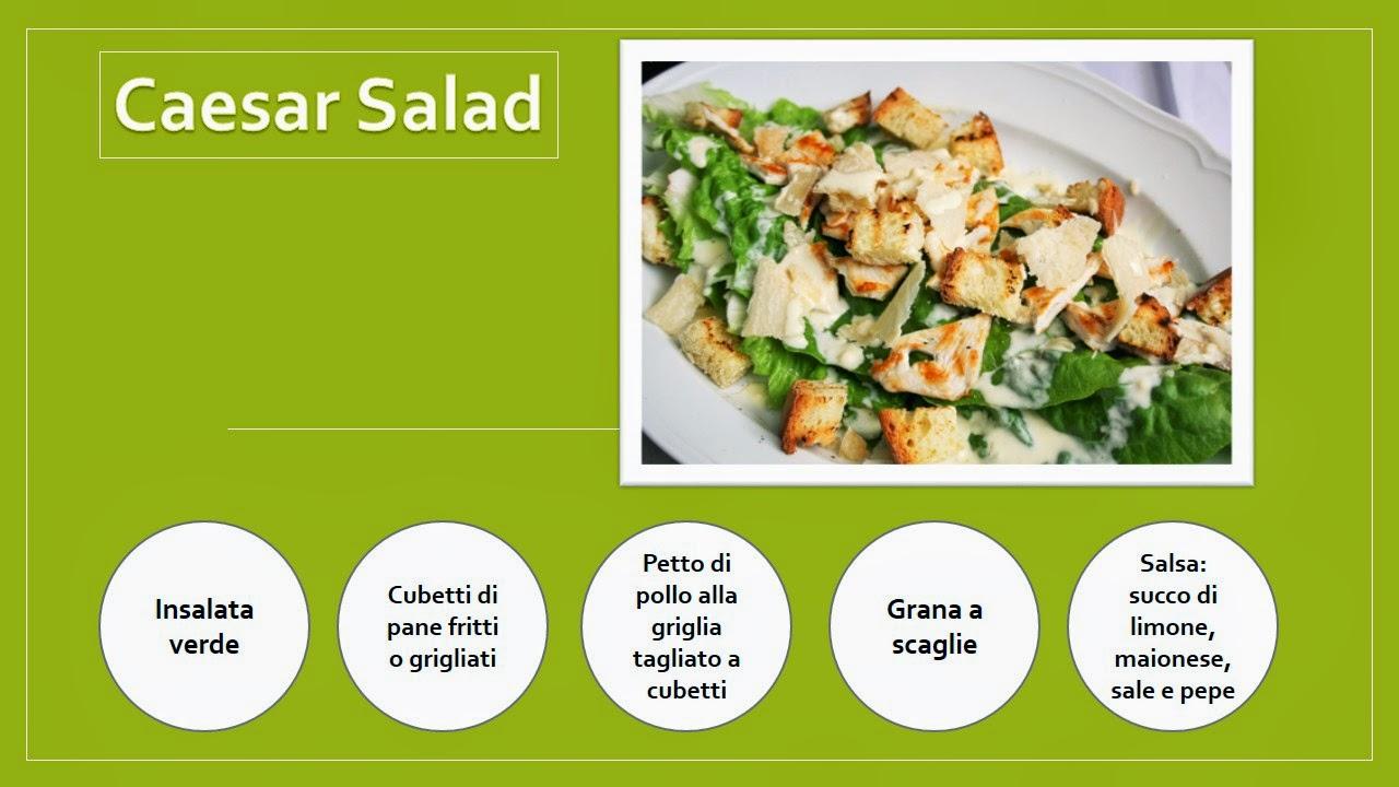 il ricettario da stampare - caesar salad