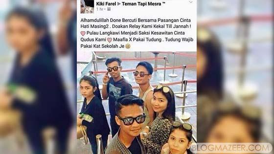 Kontroversi Pasangan Kekasih Melayu Islam Cuti Bersama Buah Hati Masing-Masing