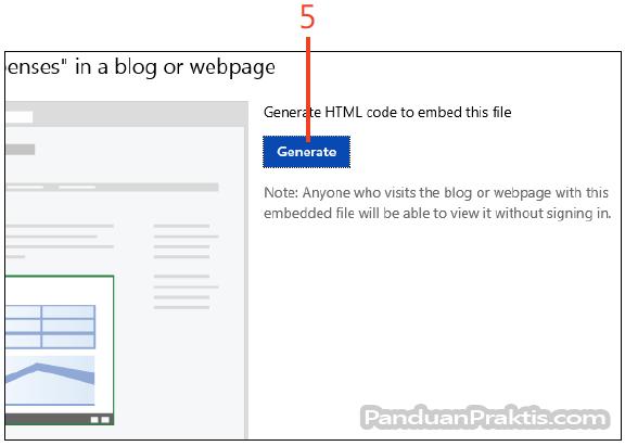 Cara melekatkan embed workbook excel 2013 pada halaman web klik generate ccuart Image collections