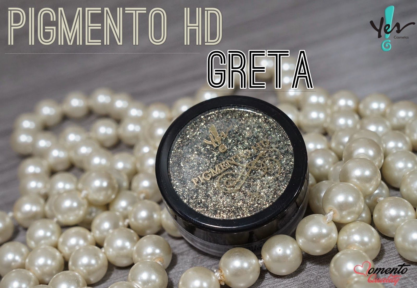 Pigmento HD Greta Yes Cosmetics