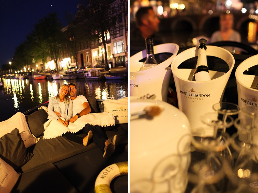 night cruise amsterdam photo
