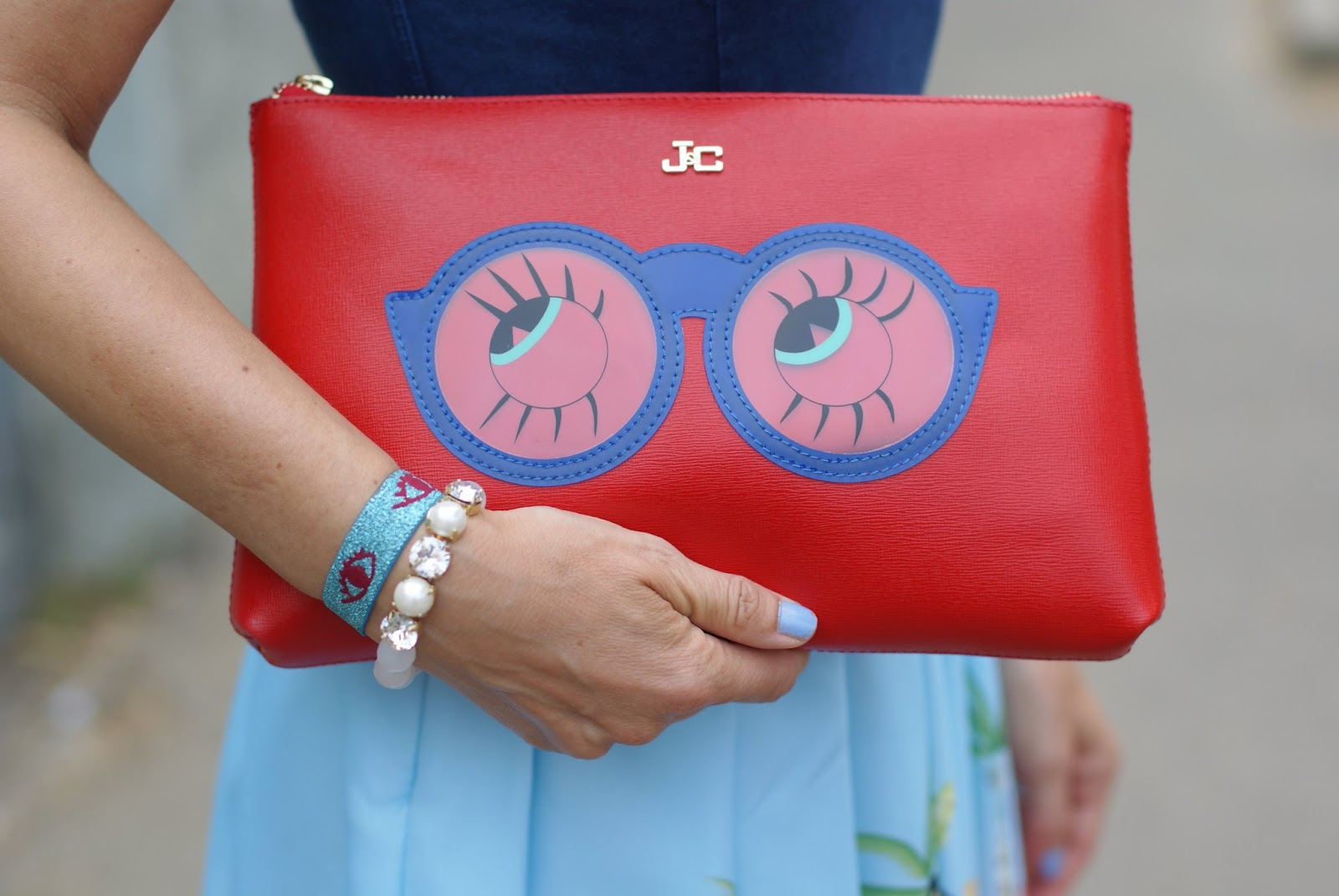 Jack y Celine clutch on Fashion and Cookies fashion blog