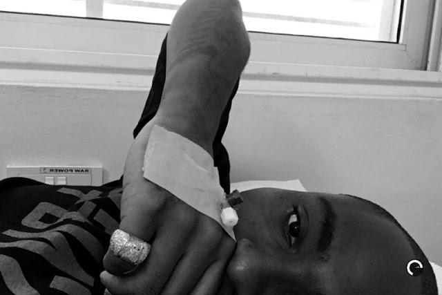 Baby Mama Drama: Davido Hospitalized For Stress (Photos)