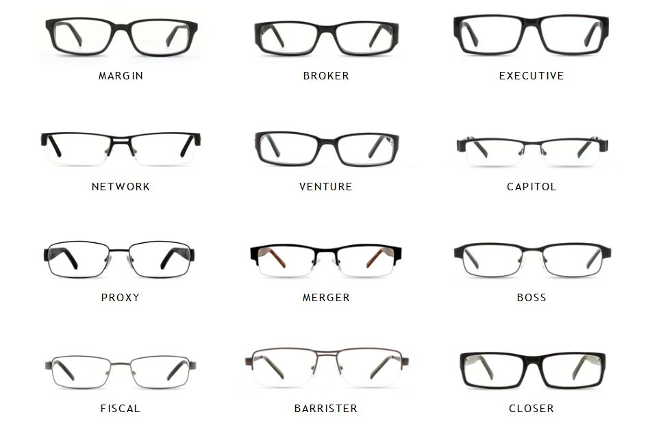 Glasses Frames Styles Names : Analog/Digital: How to buy glasses online (Part 4): DB Vision