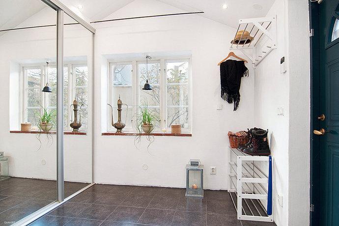 Inredningskaos Söndagsinspiration Hallen