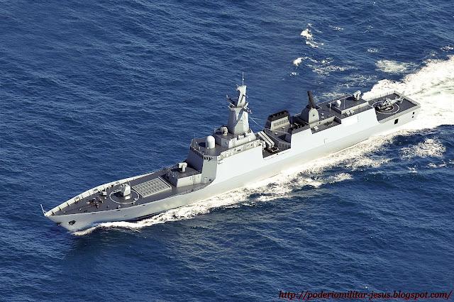 Poder o militar china lanz el cuarto destructor tipo 052d for El cuarto poder 2 0