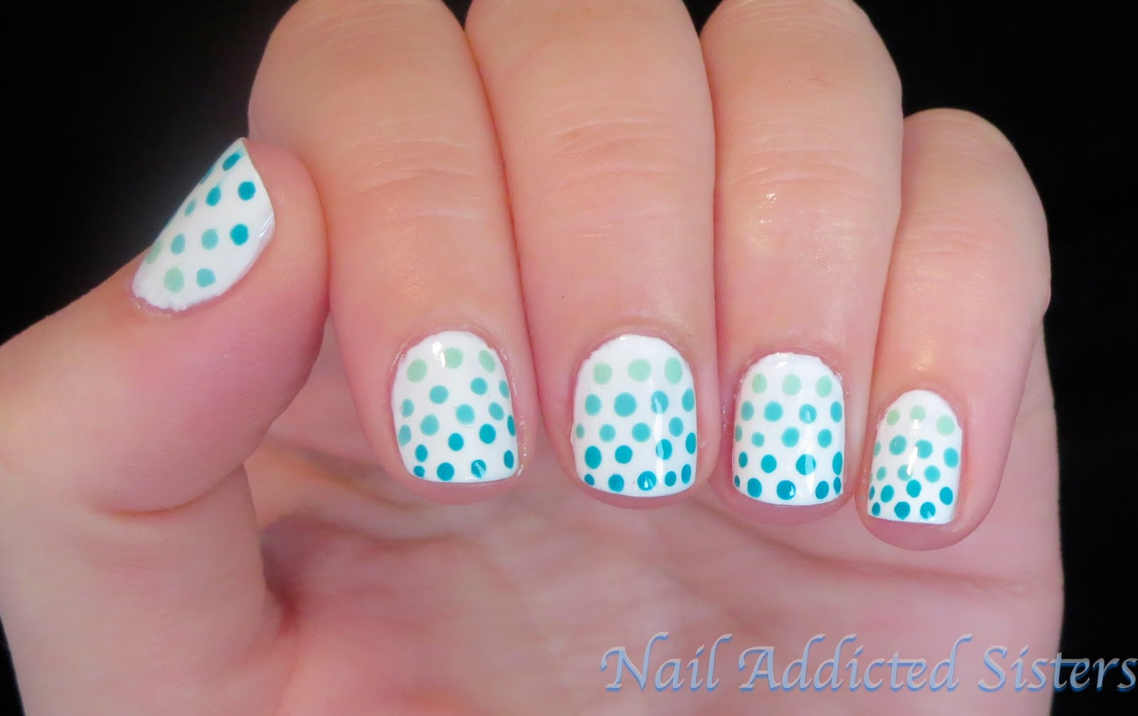 And easy nail art designs on quick and easy nail art for short nails
