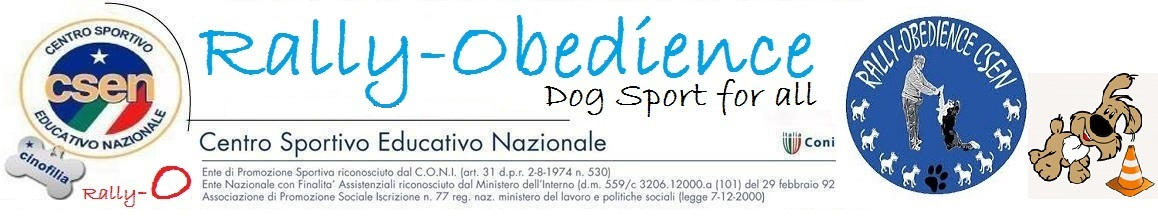 Rally - Obedience CSEN