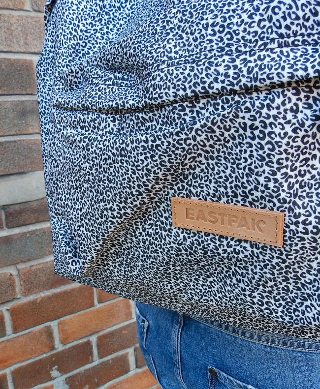 Eastpak Cheetah Padded Pak'R Backpack uk fashion blogger liverpool outfit post