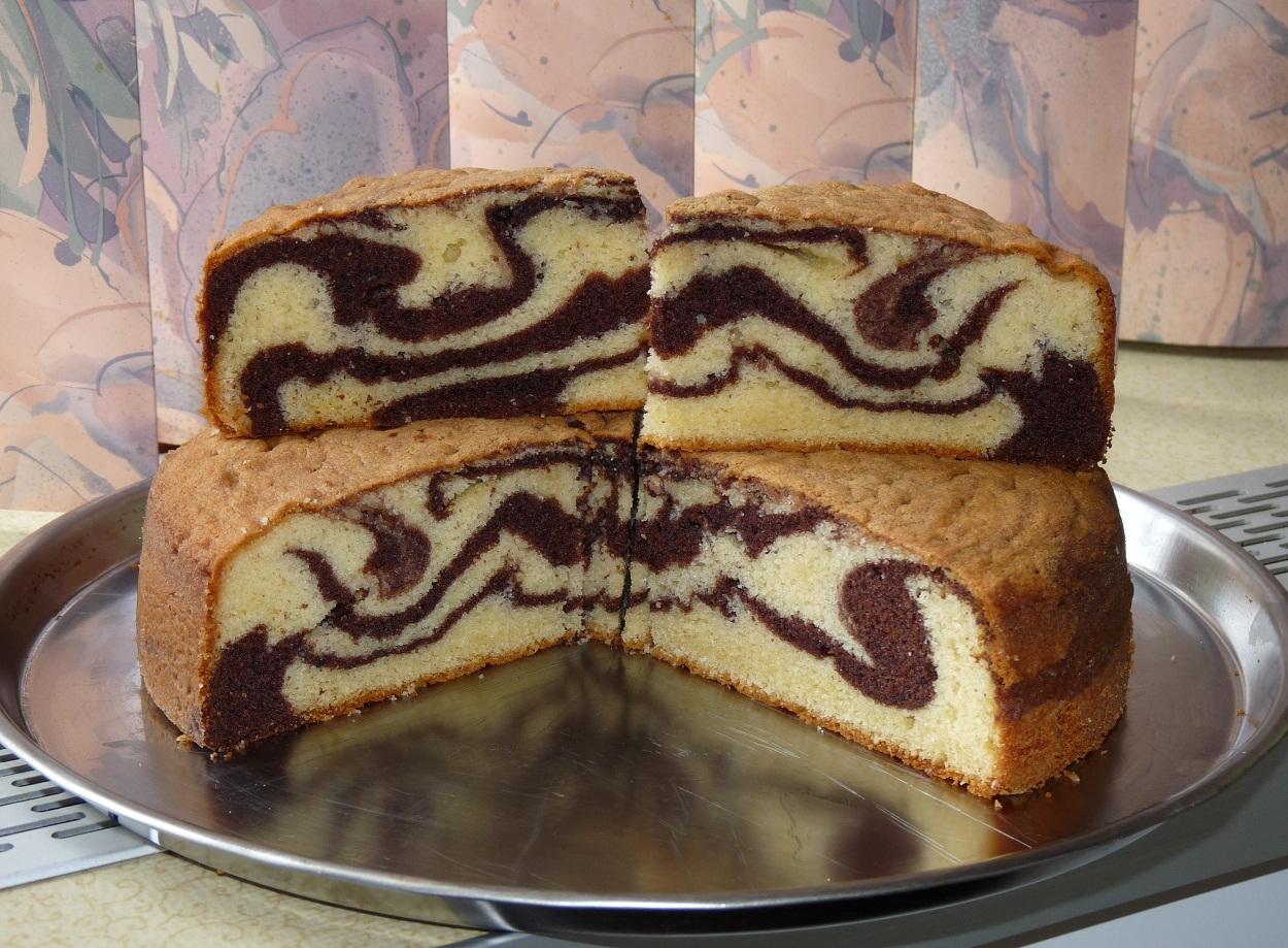 Marble Cake Recipe Dishmaps