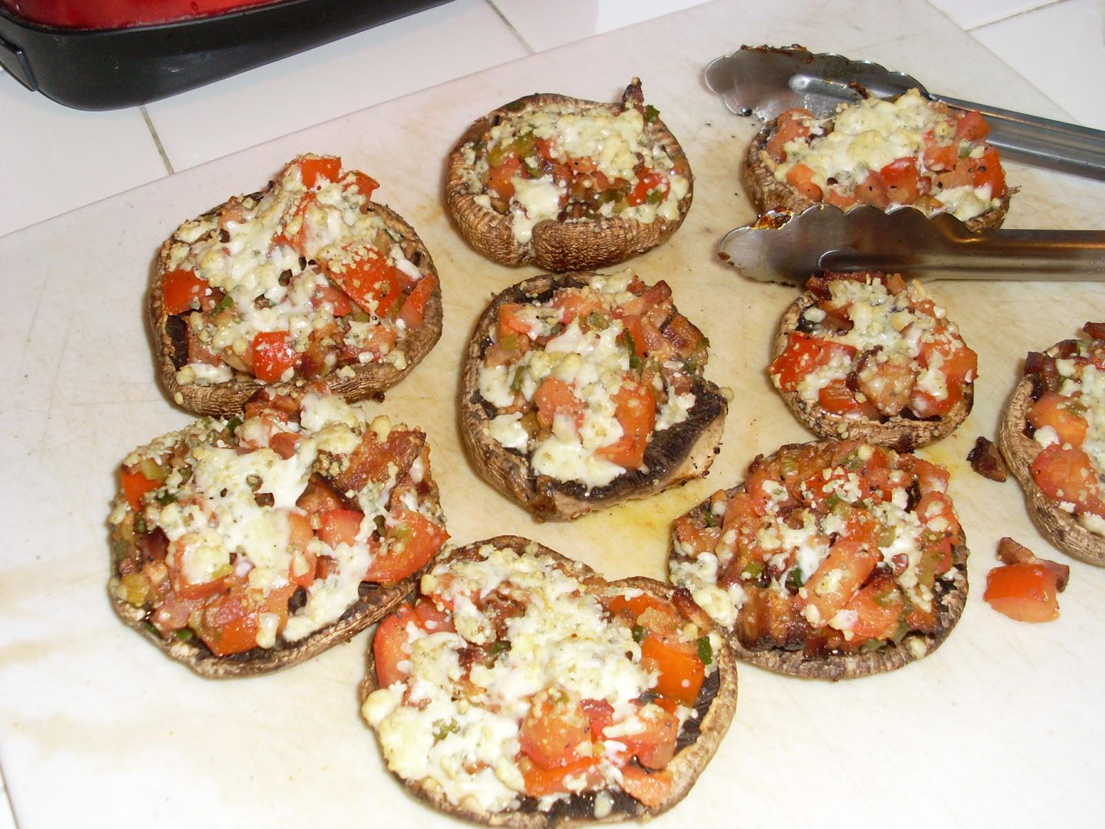 Meat Incorporated: Stuffed Portobello Mushrooms