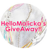 giveaway malicka for zula_icka^^