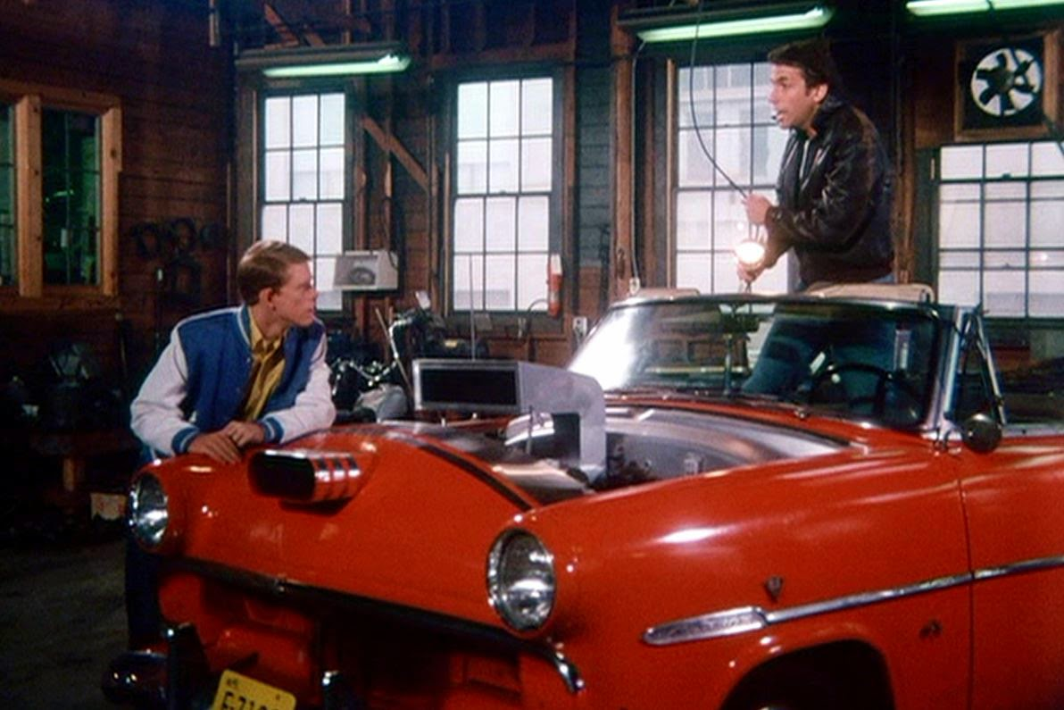 Just a car guy the luv bandit a car fonz found to sell for Garage happy car