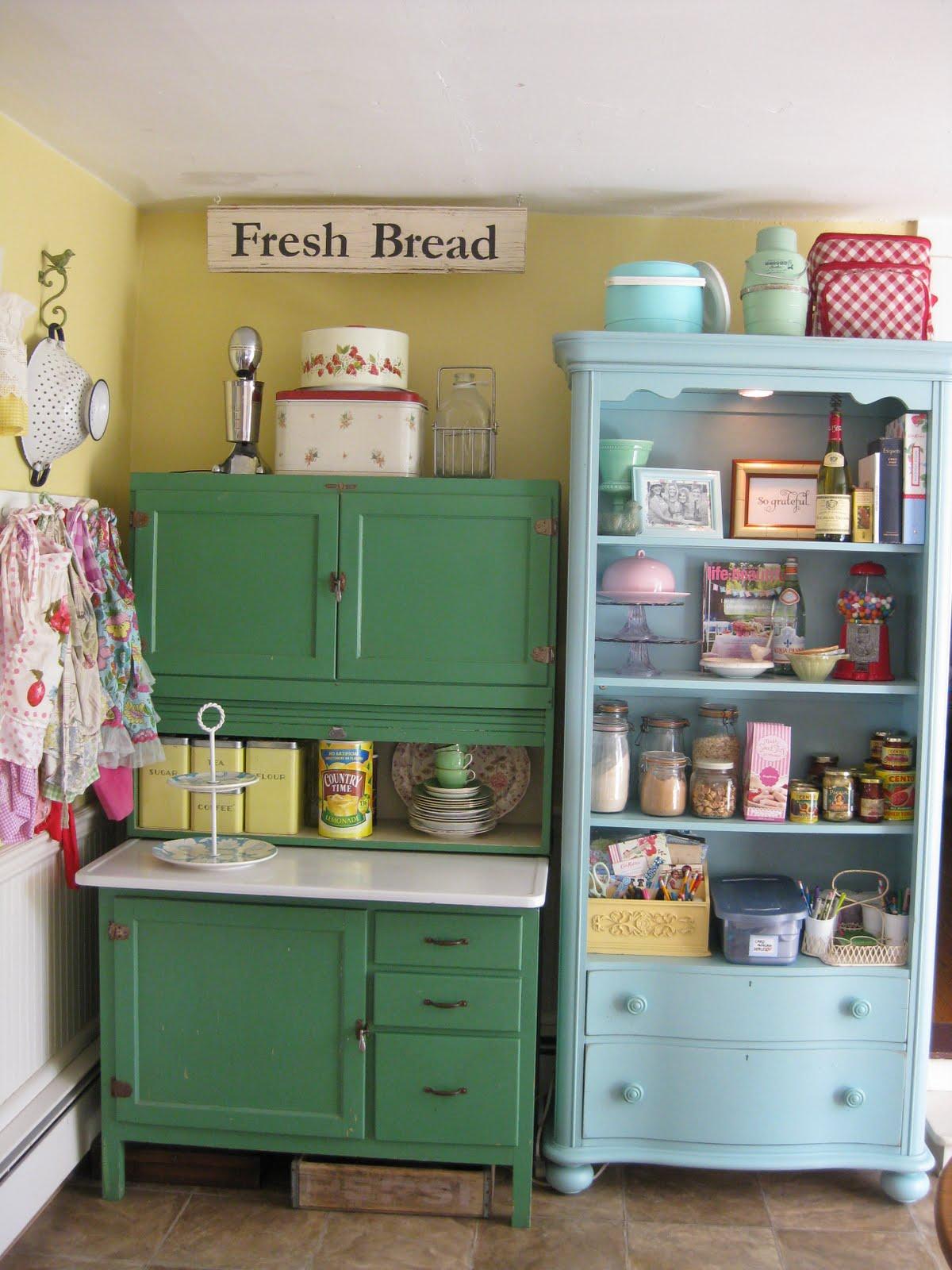 three men and their ladies my summertime vintage kitchen