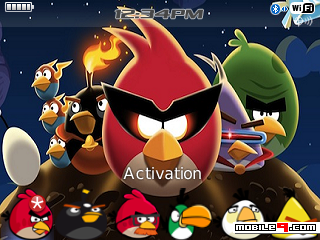 Tema BlackBerry 8520 Angry Birds Download Tema BlackBerry 8520 Gratis 2012