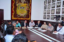 Preside Américo Zúñiga reunión con Coplademun y Canacintra