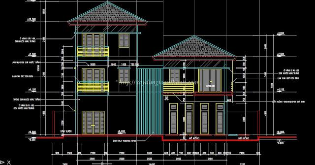 phối cảnh xây nhà trọn gói