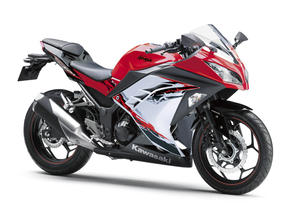 new Kawasaki Ninja 300 price in India