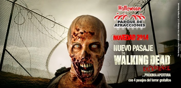 Walking Dead parque atracciones madrid