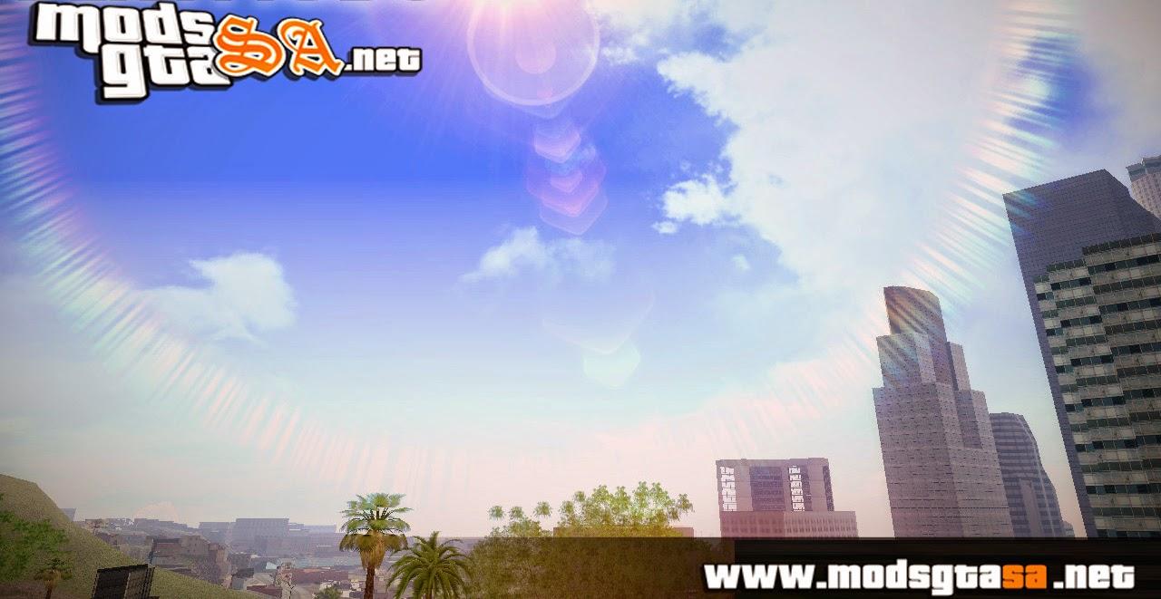 SA - SkyBox Arrange (Nuvens e Estrelas Reais)
