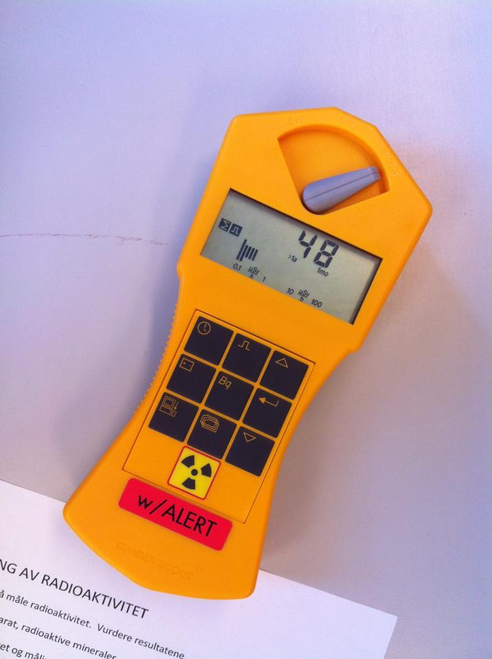 radioaktivitet måler