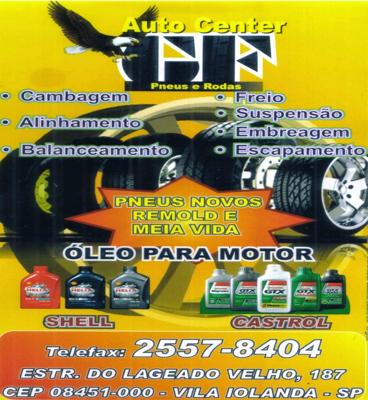 Pneus, Rodas, Centro Automotivo