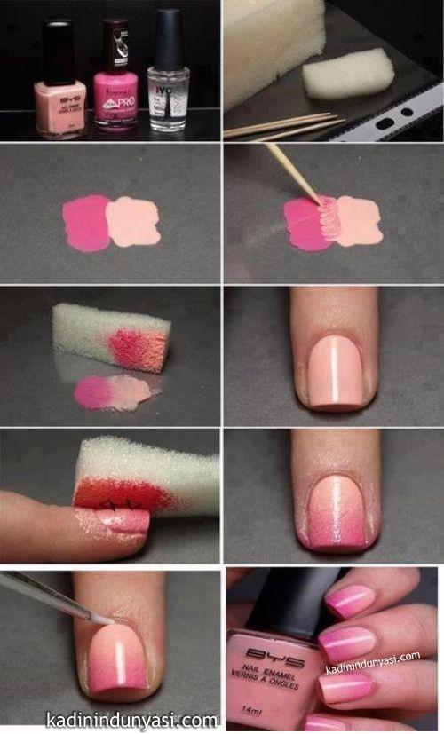 Как быстро и легко сделать рисунок на ногтях
