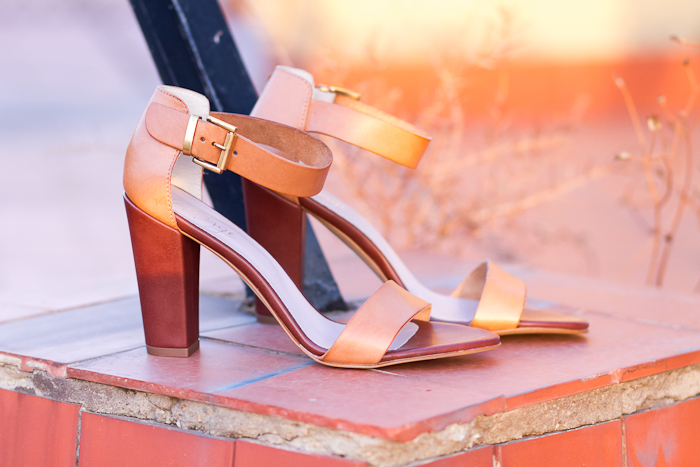 TAUPAGE NUDE STRAPPY SANDALS