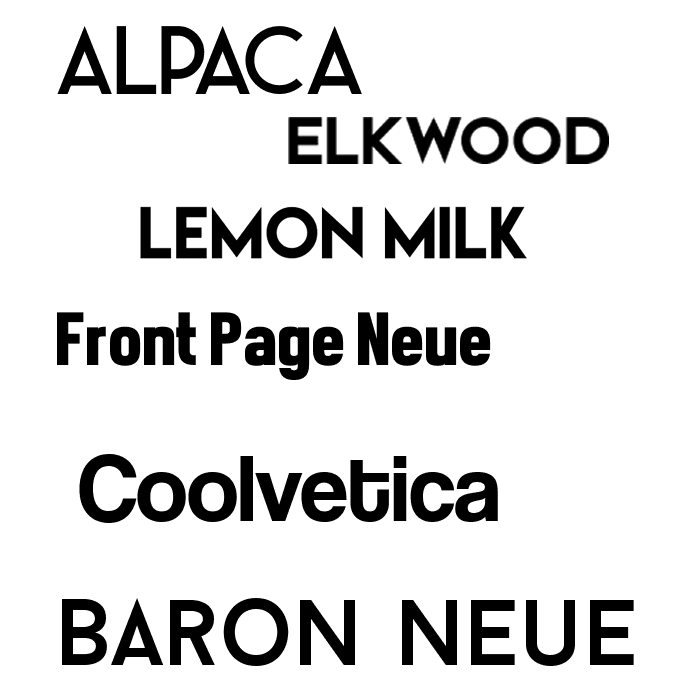after looking at different magazines i have noticed that not all fonts are constant here is a font mood board for fonts to use on the masthead