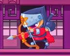 Hareketli Dövüşçü Ninja Yeni