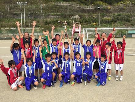 U12第28回木曽少年サッカー春季大会優勝