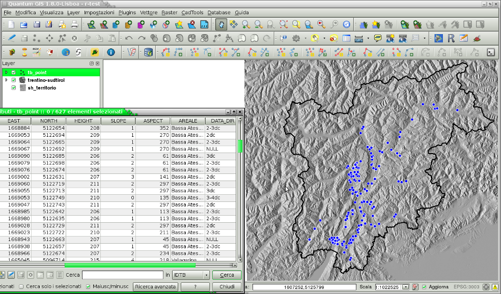 Ator manager a usefull plugin for qgis i need to plot an histogram of heights above sea level to get an immediate view of sites distribution based on heights i can launch manager from qgis ccuart Images