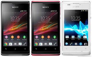 Spesifikasi dan Harga Sony Xperia E C1505