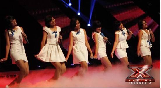 eliminasi X Factor Indonesia Panggung Gala Show kedua