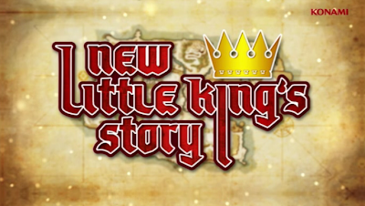 New Little King's Story (PS Vita) Title Screen