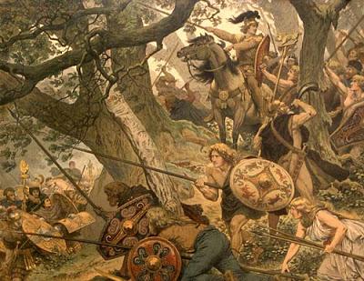 Batalla de Teotoburgo