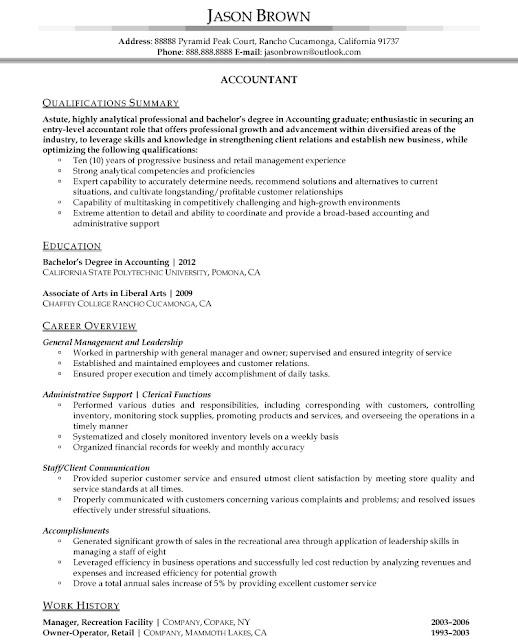 Accounting Resume Samples5
