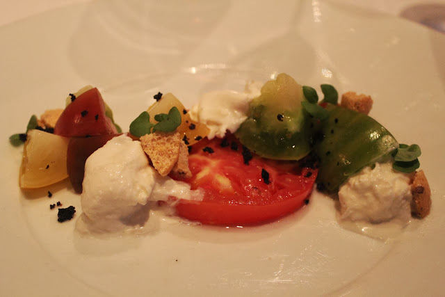 Heirloom tomatoes at Menton