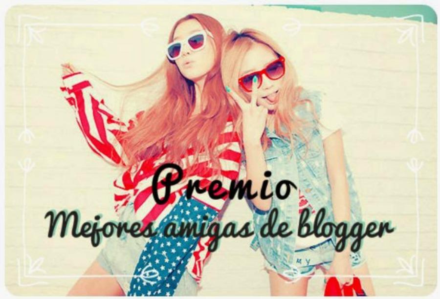 3 Premios Mejores amigas de blogger