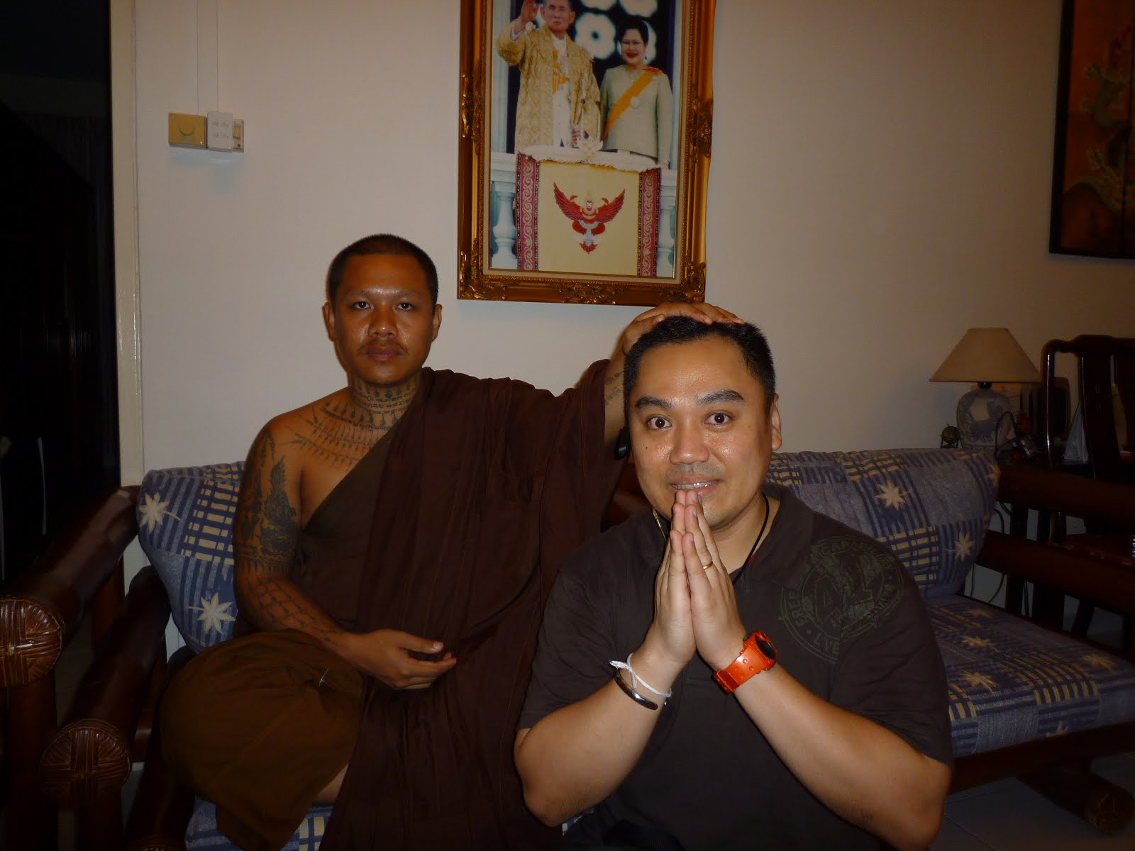 Kruba Thammunee Wat Suanpar