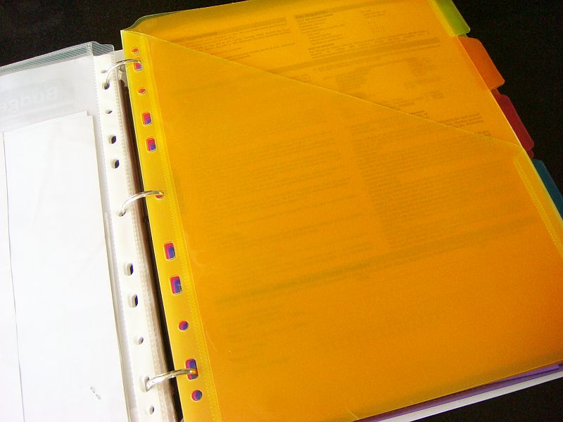 Page Dividers Transparent