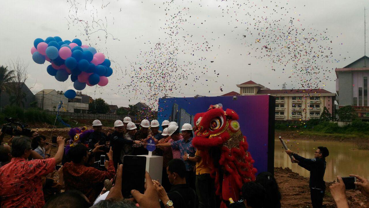 Ground Breaking Apartemen Gangnam Distgrict Bekasi Barat