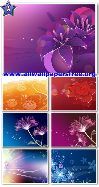 80 Abstract Flowers Design Wallpapers 1920 X 1200